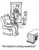 Bear Watches Tv