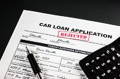 Car Loan Application Rejected 007