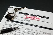 Mortgage Loan Application Approved 003