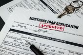 Mortgage Loan Application Approved 006