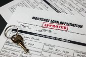 Mortgage Loan Application Approved 010