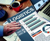 Logistics Businessman Working Calculating Thinking Planning Paperwork Concept