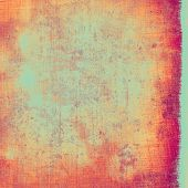 Cracks and stains on a vintage textured . With different color patterns: purple (violet); yellow (beige); cyan; pink