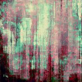 Rough grunge texture. With different color patterns: purple (violet); yellow (beige); green; pink