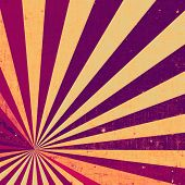 Old school textured background. With different color patterns: purple (violet); yellow (beige); red (orange); pink
