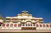 pic of palace  - Chandra Mahal Palace  - JPG