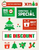 Christmas Shopping Design Elements