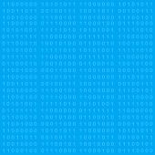 Binary Code Seamless Background
