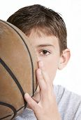 Youth With Basketball
