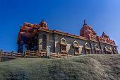 stock photo of vivekananda  - Swami Vivekananda memorial  Mandapam  Kanyakumari Tamilnadu India - JPG