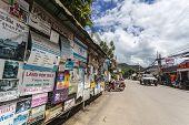 Walking Street in Pai, Mea Hong Son, Thailand