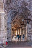 Rome Colosseum Interior Corridor