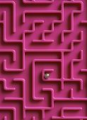 Ball At The Centre Of Maze