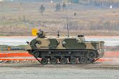 Airborne tracked armoured personnel carrier