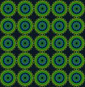 pic of parallelogram  - background pattern made from piece of Karanda fruit - JPG