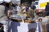 foto of hunter  - CHARTRES, FRANCE - May 10: The 19th meeting of bargain hunters Antiques - Bargain May 10, 2015 - JPG
