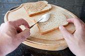 Spreading On A Sandwich Filling