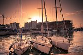 foto of marina  - Yachts in Marina Bay in Rimini - JPG