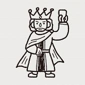 image of scepter  - King Doodle - JPG