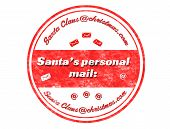 Santa's Personal Mail Stamp