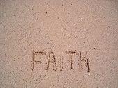 Faith Written On Sand