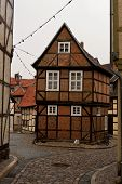 Quedlinburg old town homes