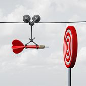 Success Hitting Target poster