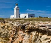 Old lighthouse at Cabo Rojo