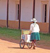 Bolivian Ice Cream Seller