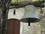 Church Bell Hanging On A Tree