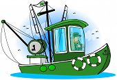 Leprechaun Fishing Boat