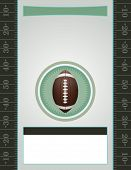 Vector American Football Party Flyer poster