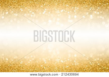 fancy gold glitter sparkle confetti background for golden happy birthday party invite 50th wedding anniversary