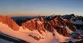 Sierra Mountains Sunrise