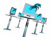 Trogan Pferd Computervirus