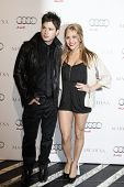 WEST HOLLYWOOD - FEB 28: Cody Longo + Cassie Scerbo at the Audi + actress Camilla Belle Kick Off Osc