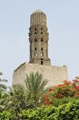 Minaret At Bab Al-futuh In Cairo Egypt