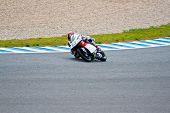 Louis Rossi Pilot Of 125Cc In The Motogp