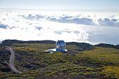 Observatorios de la Palma las nubes y el océano