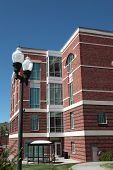 picture of klamath  - Klamath Falls county courthouse building in downtown Klamath Falls - JPG