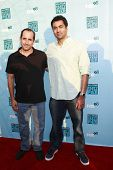 SANTA MONICA - JULY 14: Peter Jacobson and Kal Penn at the Fox TCA Summer Party in Santa Monica, Cal