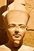 Egyptian Statue At Luxor
