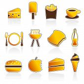 Summer Food and Drink Icons