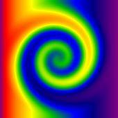 Swirly Regenbogen