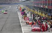 NASCAR: Mar 27 Autoclub 400