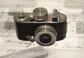 Alte, Old Photo Camera