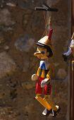 Pinokio marionette doll