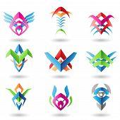 Blade Like Abstract Icons