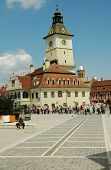 The council square of Brasov, Romania