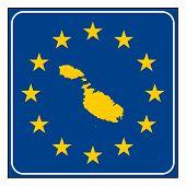 Malta European Button